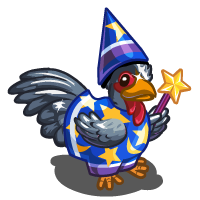 image blue wizard chicken icon png farmville wiki