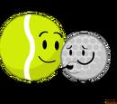 Tennis Ball & Golf Ball