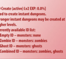 Instant Dungeon Create