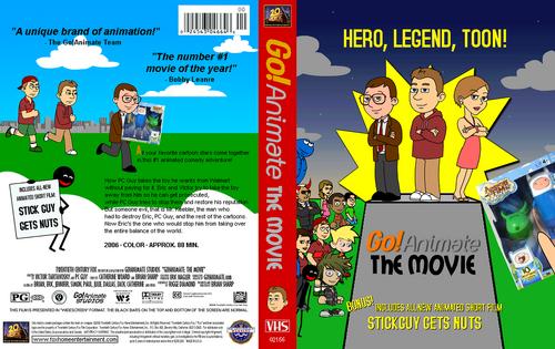 Image - Go animate the movie vhs full cover rare 2006 by c e studio ...