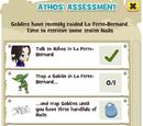 Athos' Assessment