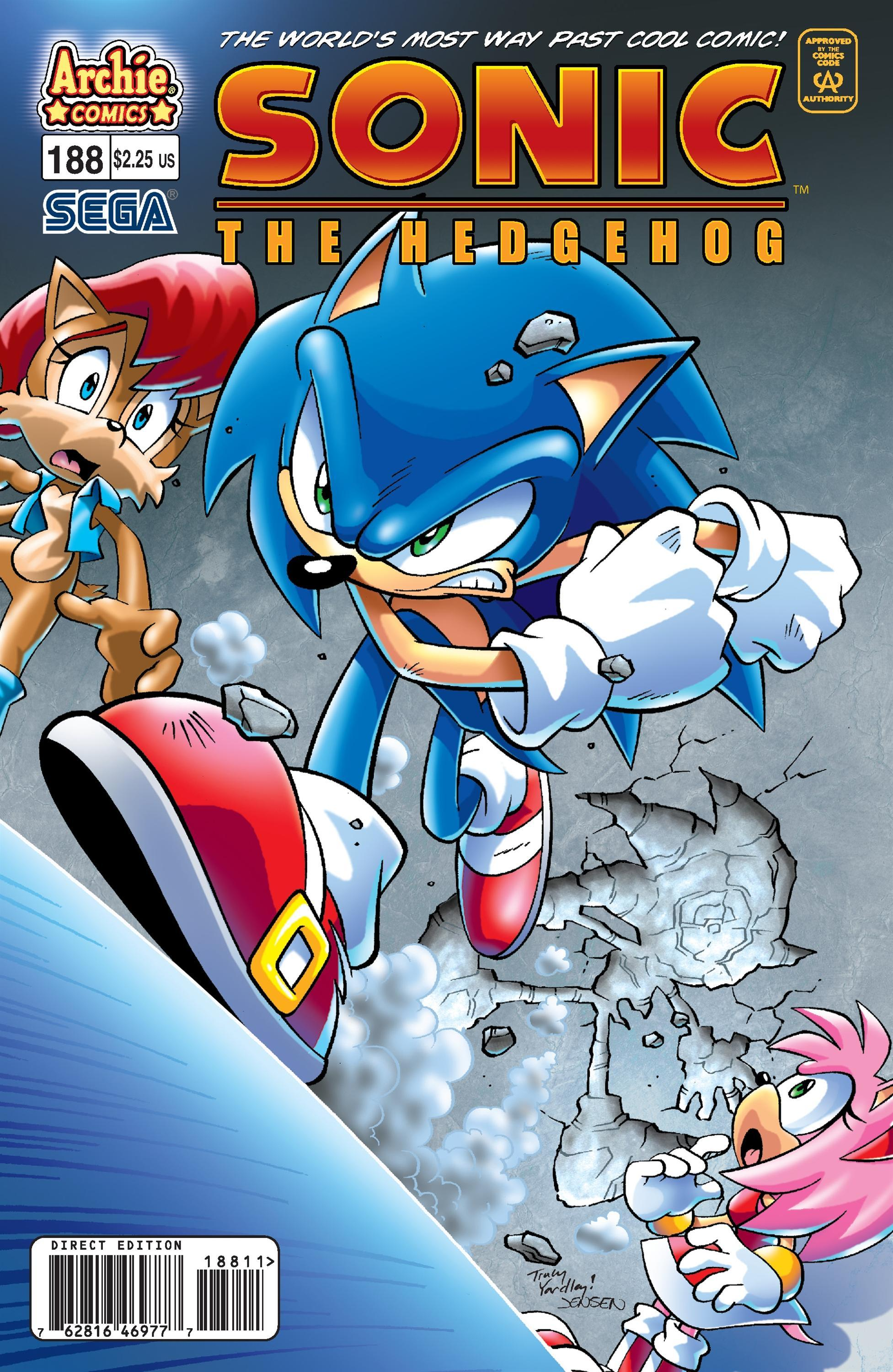 Archie sonic the hedgehog issue 188 sonic news network wikia