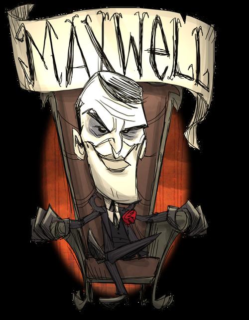Maxwell don t starve villains wiki wikia