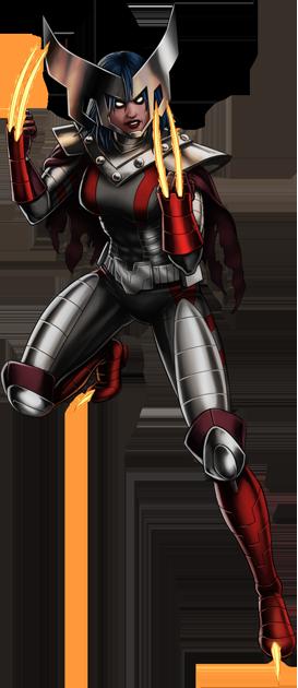 Image - Horseman of War X-23 Portrait Art.png - Marvel ... X 23 Marvel Avengers Alliance