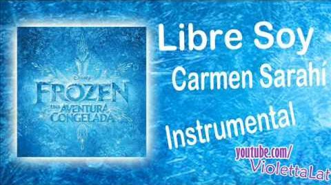 Carmen Sarahí - Libre Soy (Instrumental Oficial)