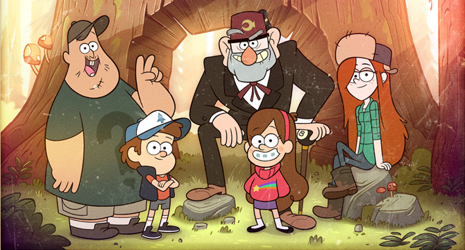 Gravity Falls Temporada 01 Audio Latino