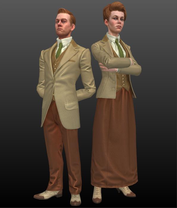 Bioshock infinite lutece twins