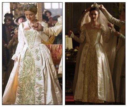 Elisabeth reign cw wiki for Reign mary wedding dress