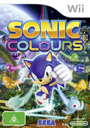Sonic Colours AUS cover