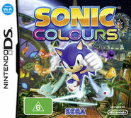 Sonic Colours DS AU cover