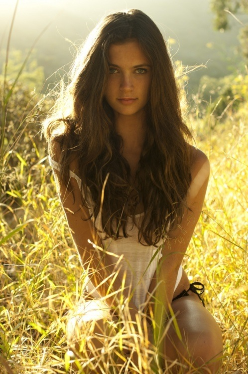 Pretty Country Girls With Brown Hair Image - Beautiful-brow...