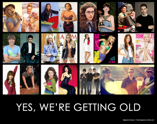 Disney channel stars then and now tumblr