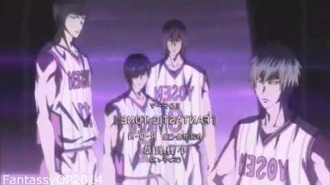 Kuroko no basket 黒子のバスケ - Ending 2「FANTASTIC TUNE」
