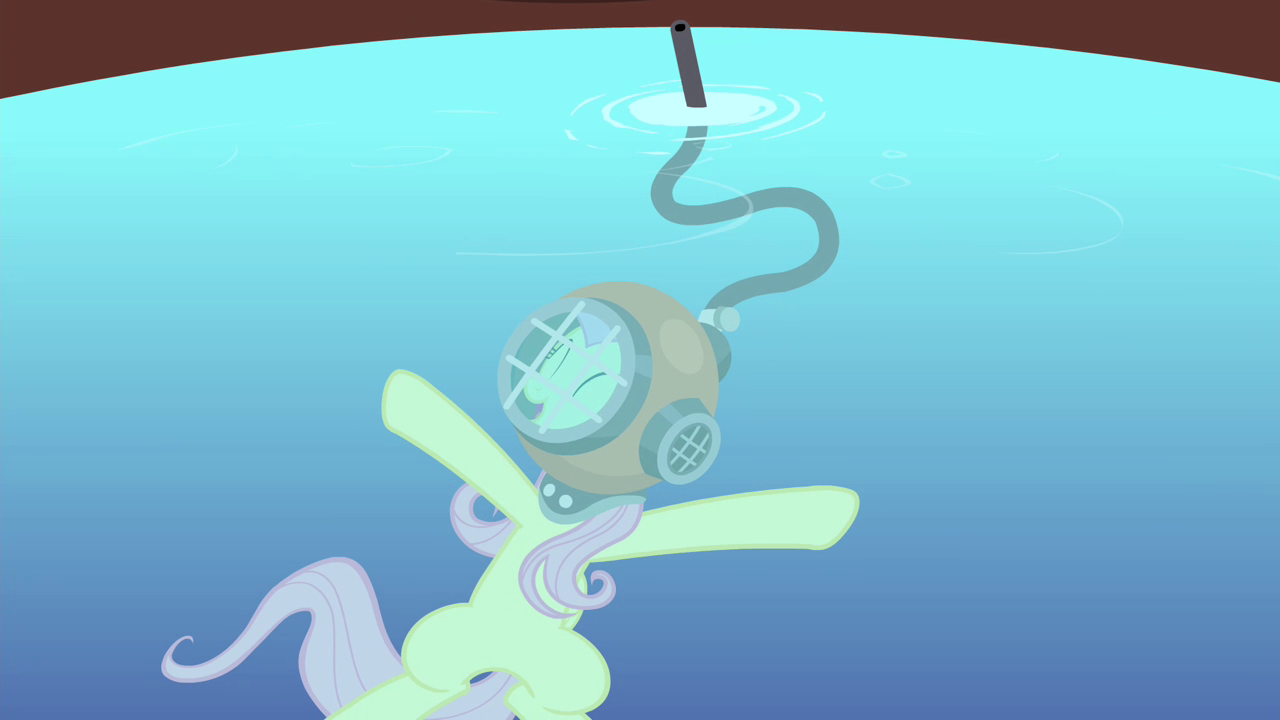 Image - Fluttershy singing inside the water S4E14.png - My ...