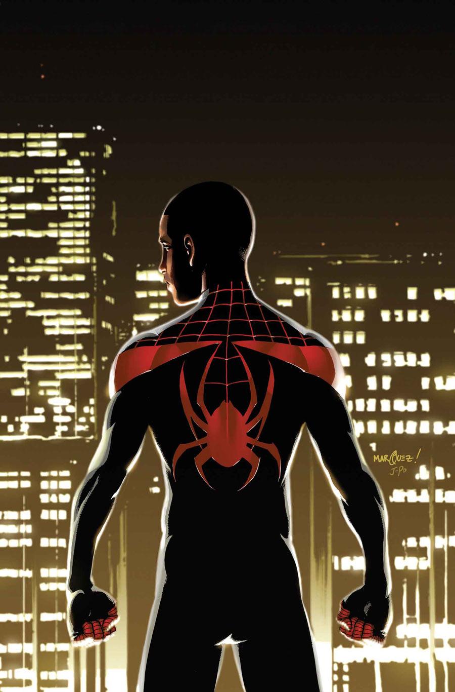http://img2.wikia.nocookie.net/__cb20140219173532/marveldatabase/images/1/1a/Miles_Morales_Ultimate_Spider-Man_Vol_1_1_Textless.jpg