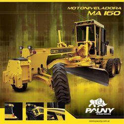 Pauny MA 160 scraper brochure - 2013