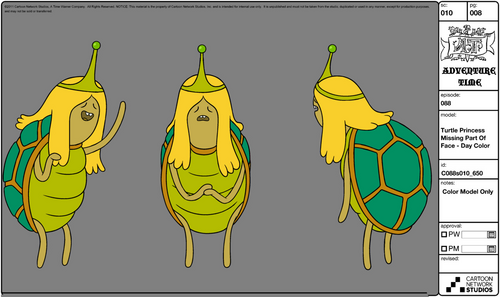 turtle princess adventure time wiki wikia