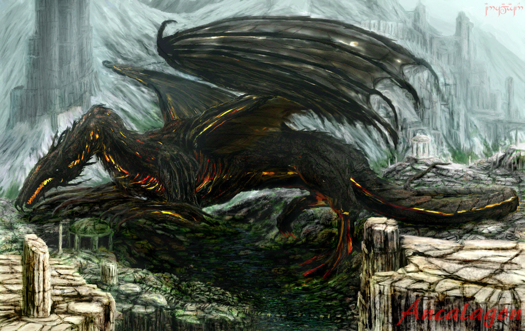 Ancalagon Lord Of The Rings Wiki
