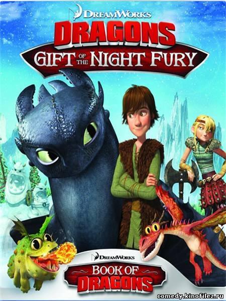 Беззубик драконы подарок ночной фурии