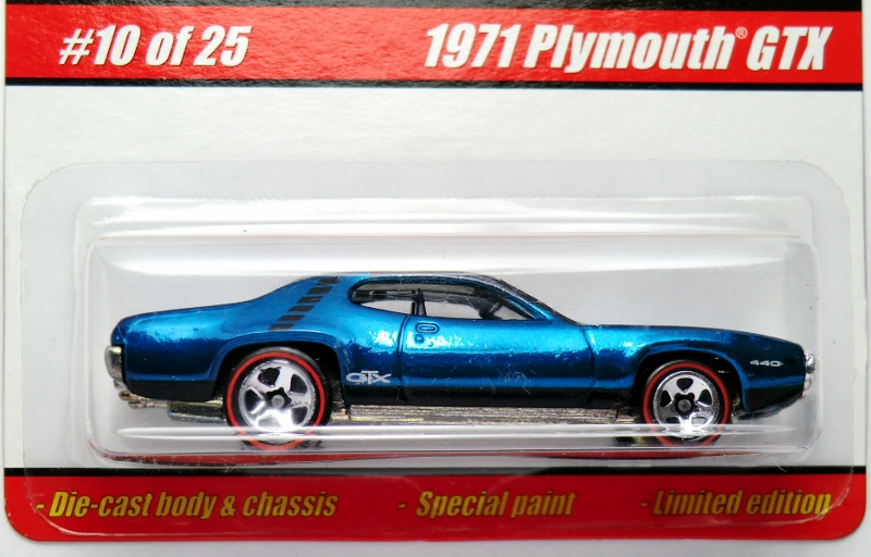 10 / 25 2005 Hot Wheels Classics Series 1 Spectraflame Blue Black
