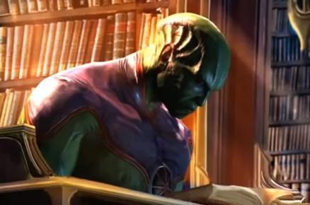 Martian Manhunter True Form