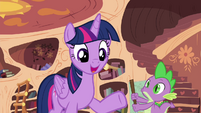 """Twilight """"But I'm happy to keep helping you learn"""" S4E15"""