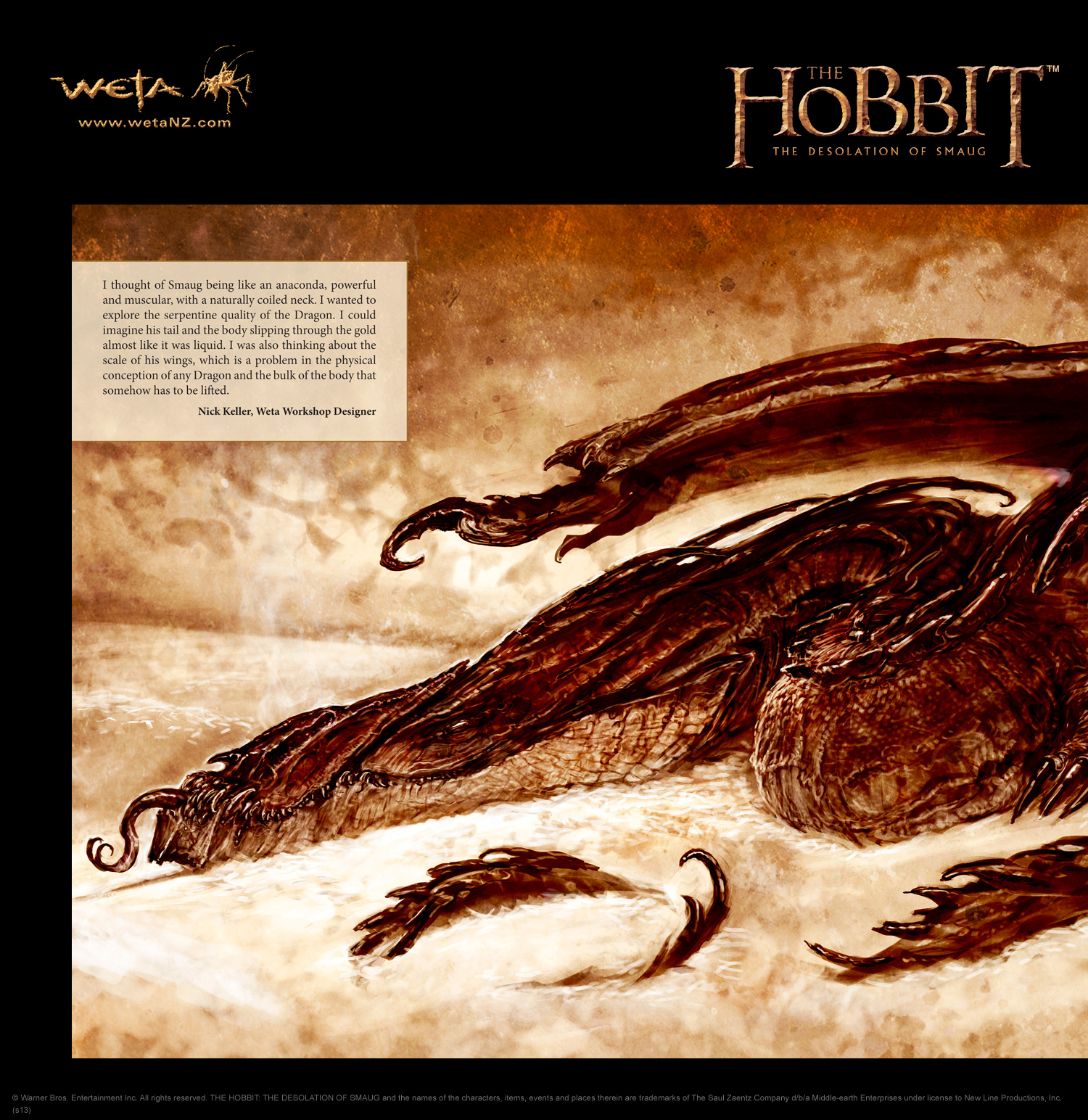 image smaug concept artjpg the one wiki to rule them