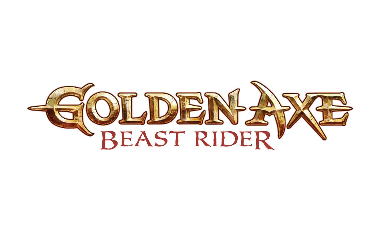 Axe Beast Golden Axe Beast Rider Logo
