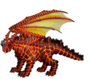 Lava Dragon Familiar