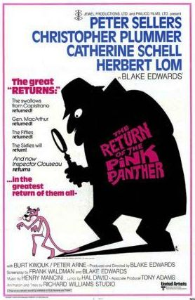 David Niven Pink Panther The Return of the Pink...