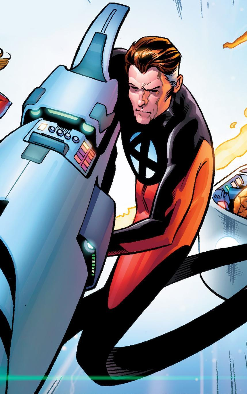 Reed Richards (Earth-616) from Fantastic Four Vol 5 1 001