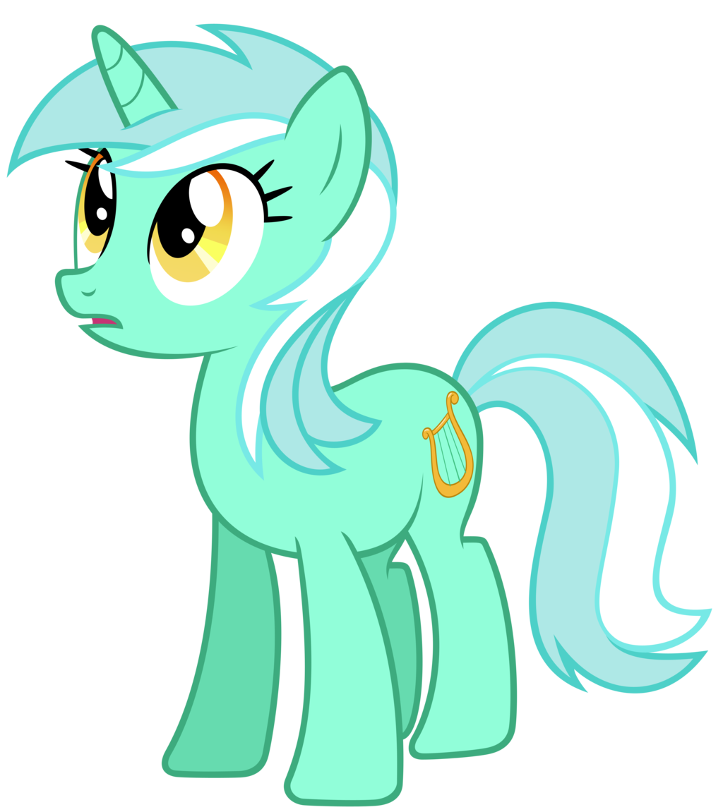 Lyra Sitting Vector Image - Lyra ve...