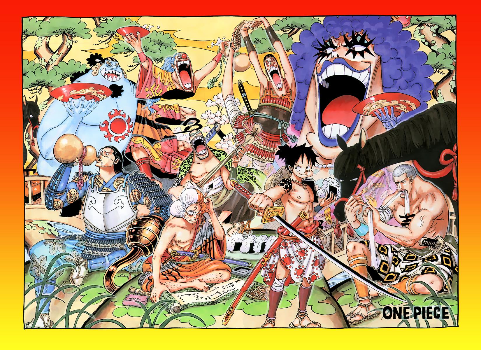 One Piece Door Painting