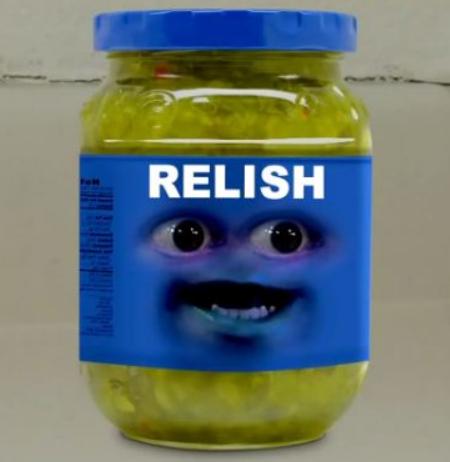 Relish - Annoying Orange Wiki, the Annoying Orange encyclopedia