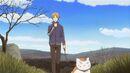 Natsume Yuujinchou - OAD natsume takes nyanko for a walk.jpg