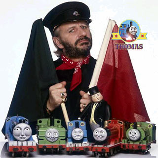 Ringo Starr Thomas the Tank Engine and Friends Railway Series TV show narrator