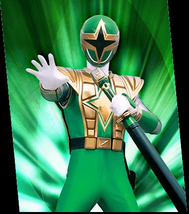 Power Rangers Ninja Storm Green Ranger Costume