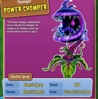 Power Chomper Plants Vs Zombies Wiki The Free Plants
