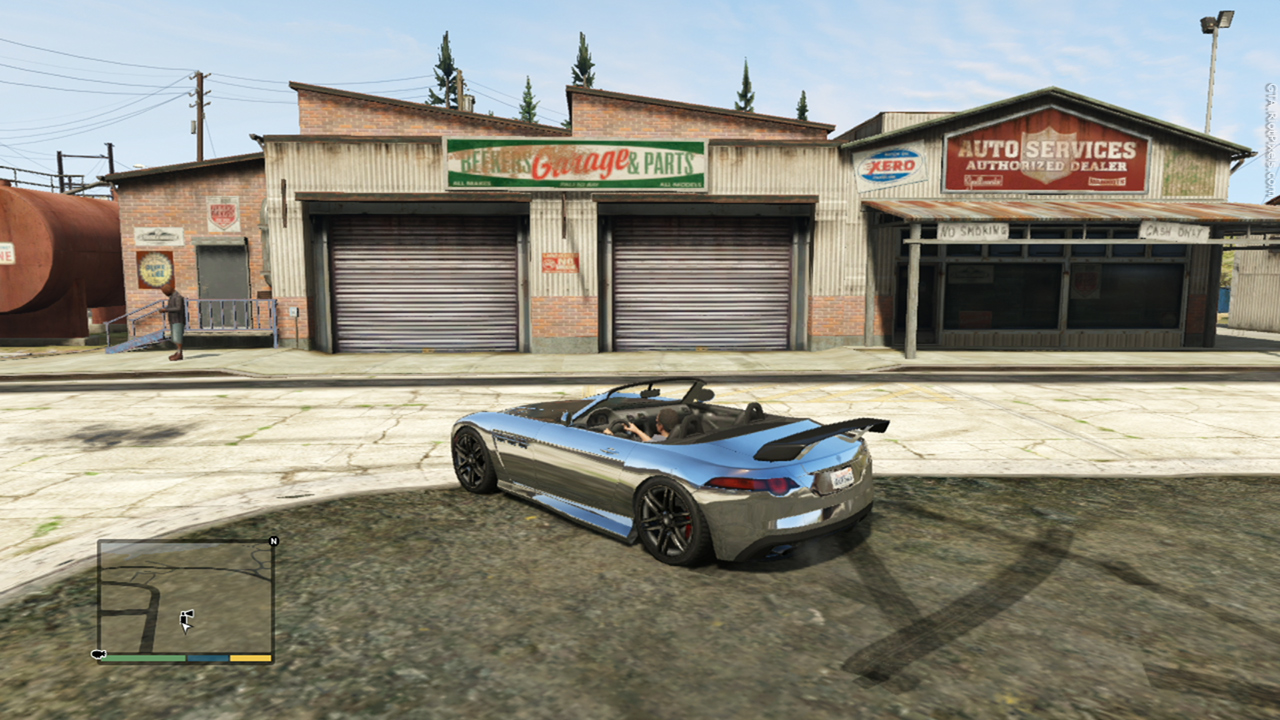 Image beekers gta wiki the grand theft for Garage auto city cadaujac