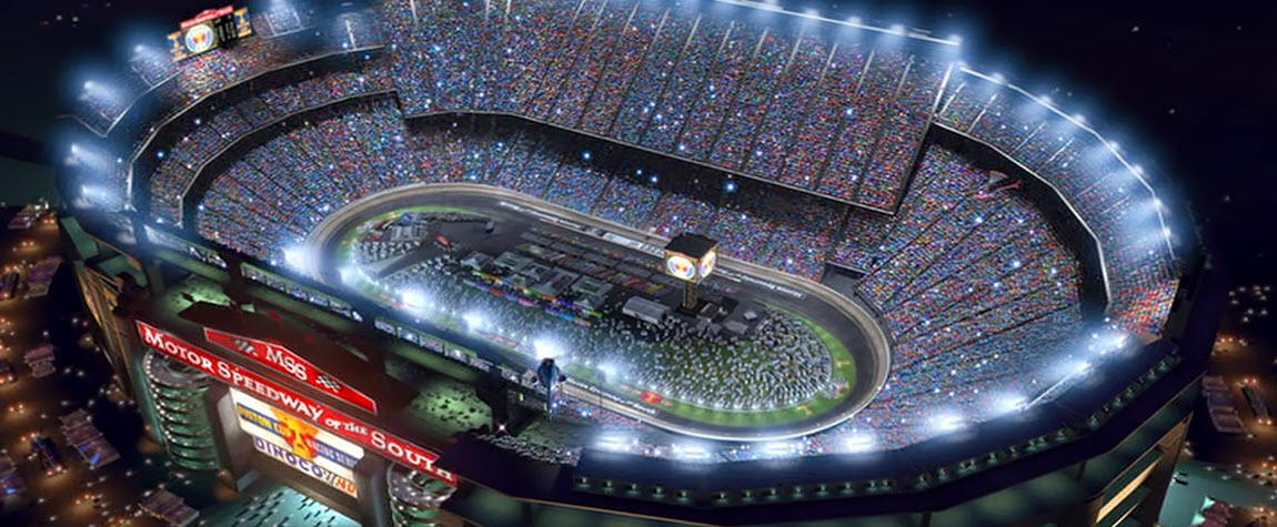 Cars Motor Speedway Of The South Game