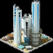Torretta di osservazione di costruzione