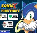 Sonic X Ring Thing