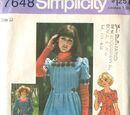 Simplicity 7648 A