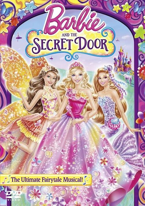 500px barbie and the secret door dvd cover