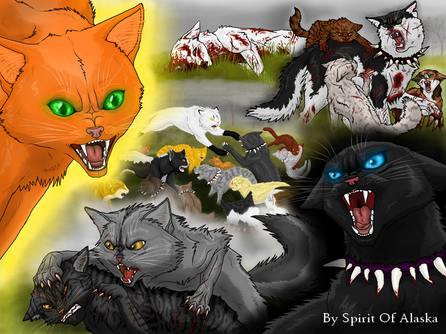Коты воители опасная тропа читать онлайн