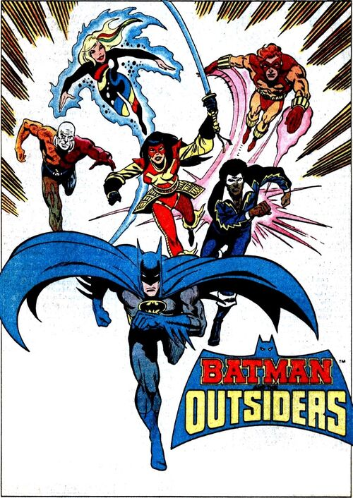 from Maurice the outsiders dc comics gay