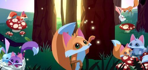 500px fox - Animal jam desktop backgrounds ...