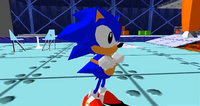 Sonic cutscene Sonic the Fighters