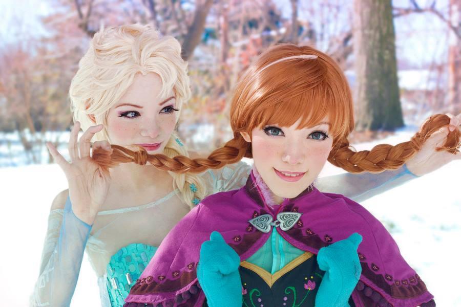 Elsa Saudades De Voces: Lost Souls: Cosplay Frozen