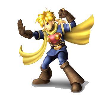 Isaac Golden Sun Smash Bros